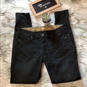 Rich & Skinny Black Skinny Jeans Black Size 27